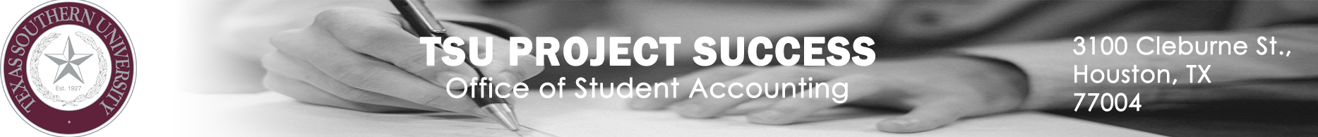 TSU Project Success Banner