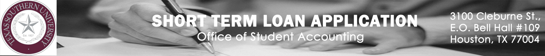 Short Term Loan Application Banner